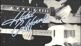 Hotel California - Eagles  ( Guitar Solos Tab Tutorial & Cover)