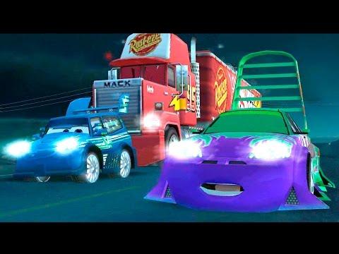 BILER NORSK FULL GAME MOVIE EPISODE Lynet McQueen Jakt i høy hastighet Disney Spill Film for barn
