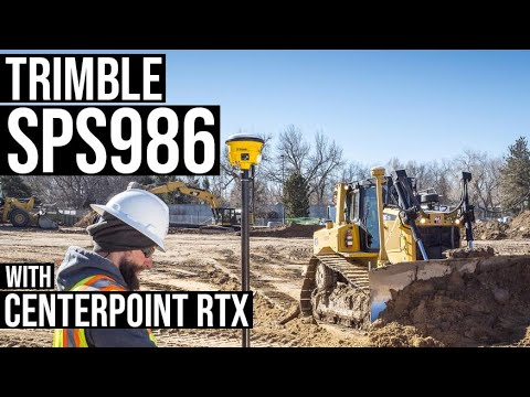 Trimble's New SPS986 Eliminates Need For Base Station In GPS Rover Surveys