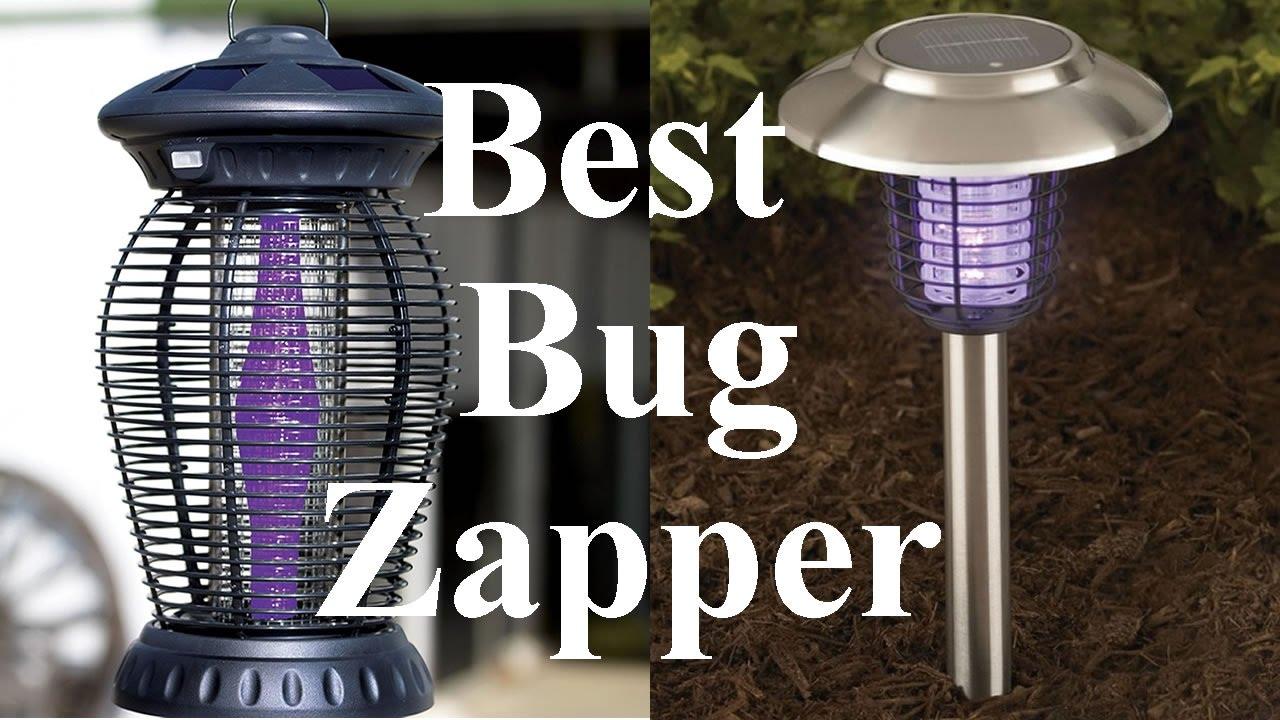 Bug Zapper Bulbs >> Outdoor Bug (Mosquito) Zapper, Solar Powered - YouTube