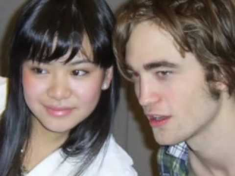 Rob Pattinson and Katie Leung together