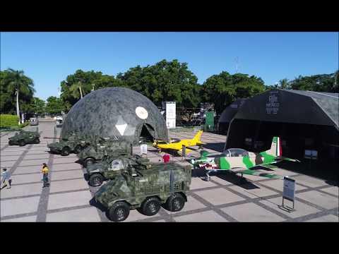 """Exposición militar """"La Gran Fuerza de México"""""""