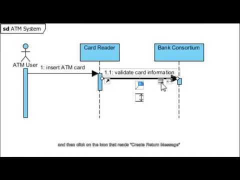 Create Sequence Diagram - YouTube