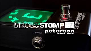 StroboStomp HD Official - High Definition Strobe Tuner Pedal