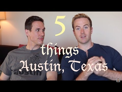 Five Things: Austin, Texas - BROADWAY HUSBANDS