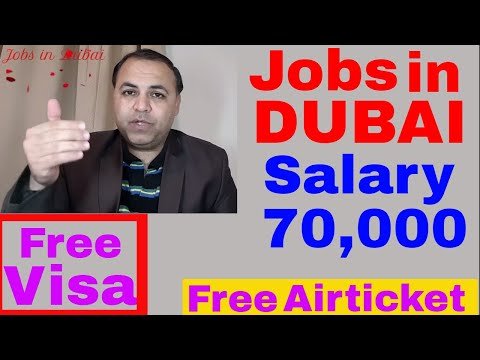 DUBAI LATEST URGENT JOBS PART 2 || JOBS IN DUBAI
