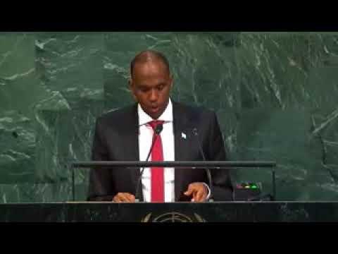 SOMALI PM Hassan Ali Khayre Speech at UNGA United Nations