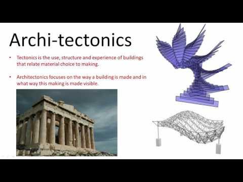 Architectonics Class