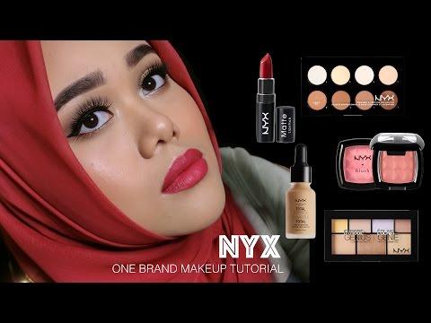 NYX One Brand Makeup Tutorial | MakeupbyFatya