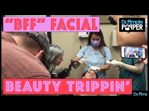 A Bloody Fantastic Facial (BFF) with Beauty Trippin'