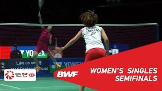 SF | WS | CHEN Yufei (CHN) [3] vs Nozomi OKUHARA (JPN) [2] | BWF 2019
