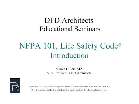 NFPA 101 Intro