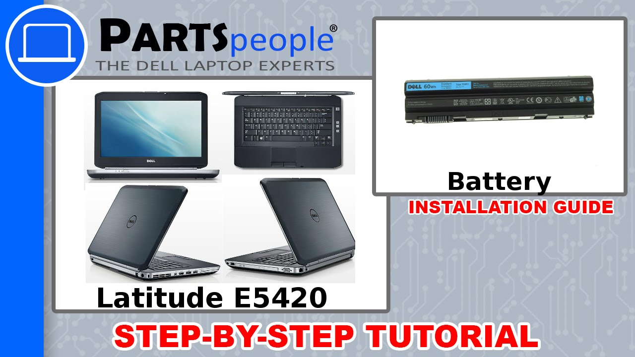 Dell Latitude E5420 Battery How To Video Tutorial Youtube