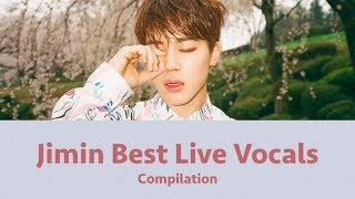 BTS Jimin Best Live Vocals Compilation