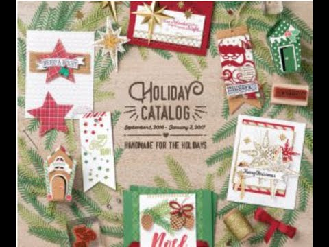 stampin 39 up 2016 holiday catalog pre order reveal with mary bush youtube. Black Bedroom Furniture Sets. Home Design Ideas