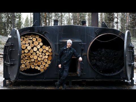 Här gör Kolektivet Sveriges bästa kol - Norrbotten dag 4