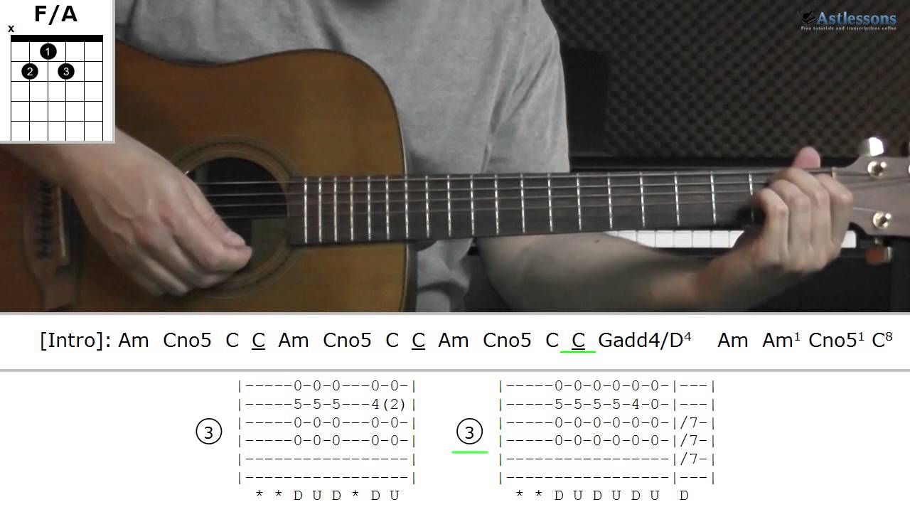 How To Play Skinny Love With Bon Iver Guitar Lesson Youtube