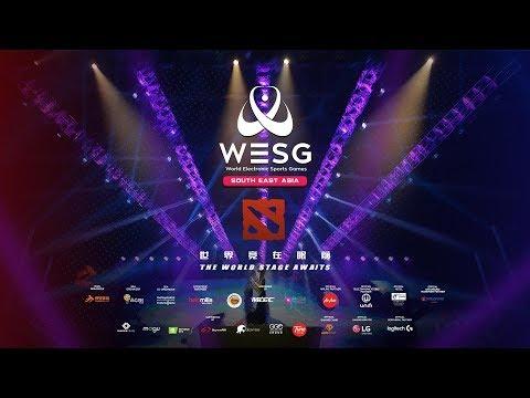 [DOTA 2] Top Global Indonesia VS Vietnam (BO1) - WESG S.E.A Finals Official Broadcast
