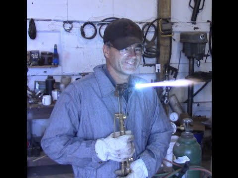 How to use a Oxygen/Acetylene Torch-DIY Duke