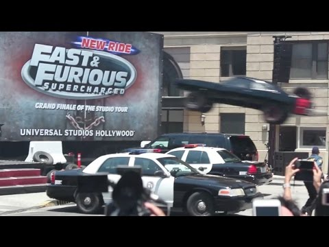 Fast & Furious—Supercharged ride grand opening at Universal Studios Hollywood