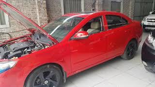 Bổ sung thêm chi tiết xe Haima 3, động cơ Mazda 3, nguyên bản, chưa hạ máy   0966680444
