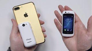 Самый Маленький Телефон на Android в Мире!