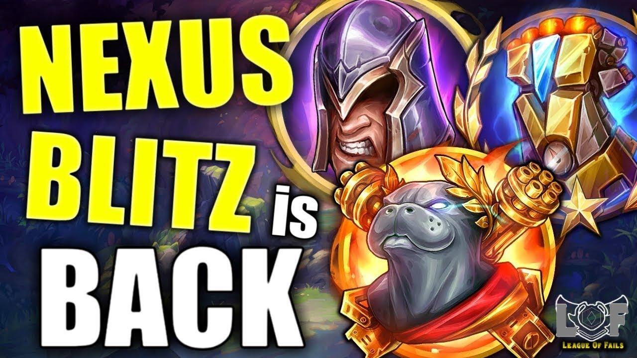 NEXUS BLITZ is Back 2020 (Live Stream PBE) - League of Legends