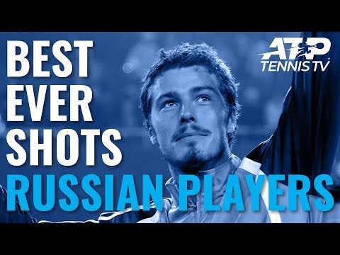 Great ATP Shots by Russian Players Past & Present 🇷🇺