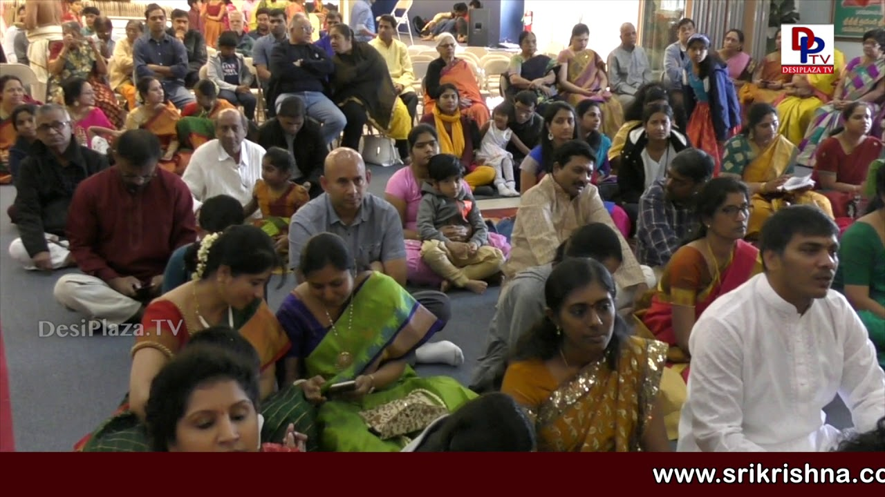 Houston - Godakalyanam held in Houston Temple under Chinna Jeeyar Swami blessings