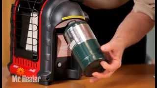 Mr. Heater Portable Buddy Propane Heater - 9000 BTU, Model# MH9BX