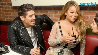 Mariah Carey and Bryan Tanaka Share Steamy Kiss