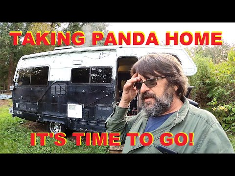 """We start the trip back to Arizona. - Getting the Class C RV known as """"Panda"""" Ready for the Trip!"""