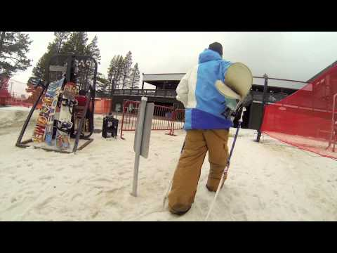 Candide Thovex in Boreal Mountain, CA