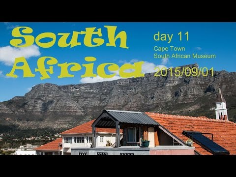 South Africa - Cape Town - South African Museum | Vlog
