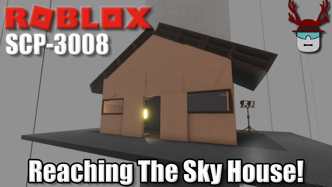 FINDING THE SECRET SKY BASE! | Roblox SCP-3008