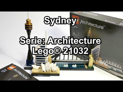 LEGO Sydney Skyline (Review Set 21032 Architecture) deutsch 4K