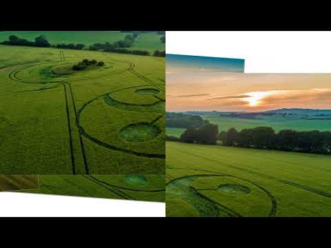 nouvel ordre mondial | CROP CIRCLE in West Knoyle 2 Keysley Down - June 10, 2018
