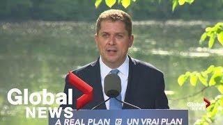 Andrew Scheer announces Conservative environment plan | LIVE thumbnail