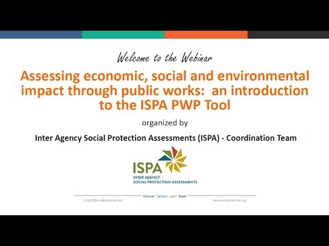 An introduction to the ISPA Public Works Assessment Tool