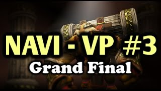 [EPIC] 3-19 Unreal Comeback | NaVi vs VP (Virtus Pro) Highlights Grand FInal DreamLeague  Game 3