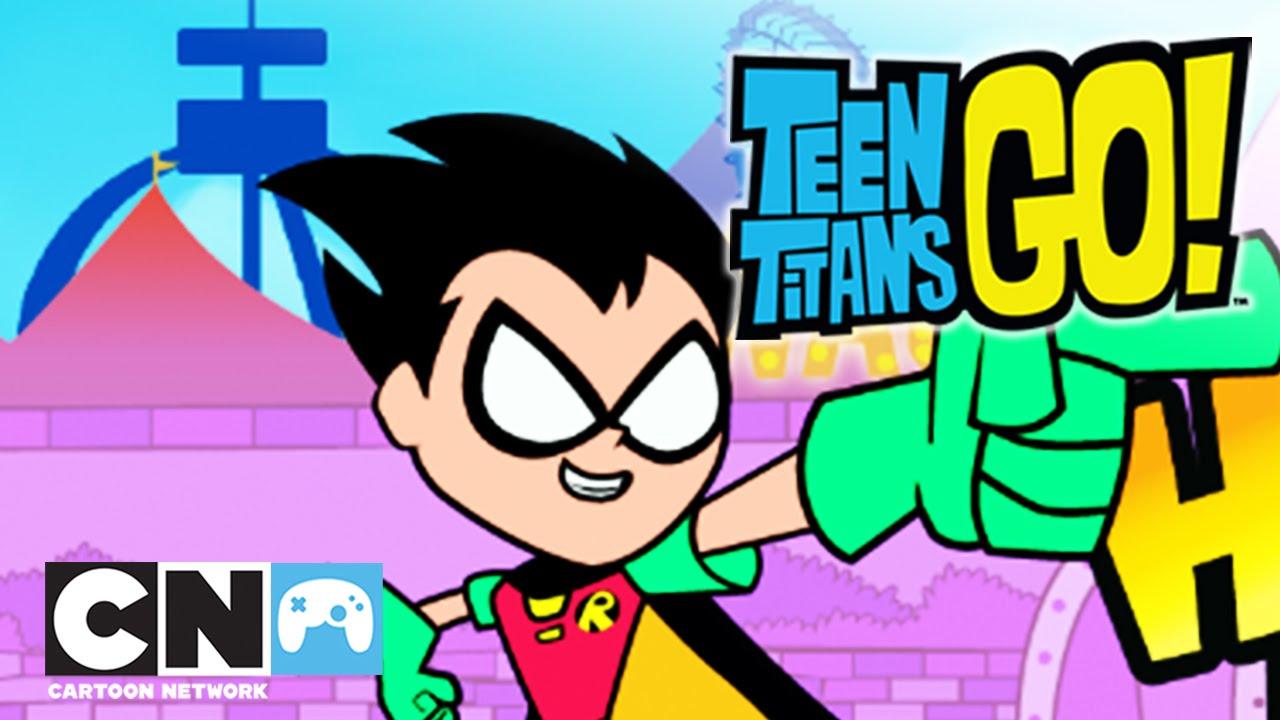 Młodzi Tytani: Akcja! | Robin vs See-More (Przejście gry) | Cartoon Network