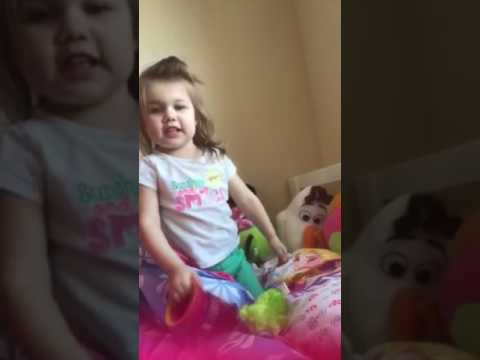 Singing before nap time