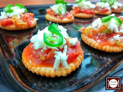 Monaco Toppings | Cheese Monaco Bites | Best Party Starter Recipe | Food Forever