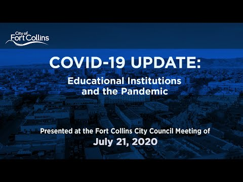 view COVID-19 Update - Higher Ed video