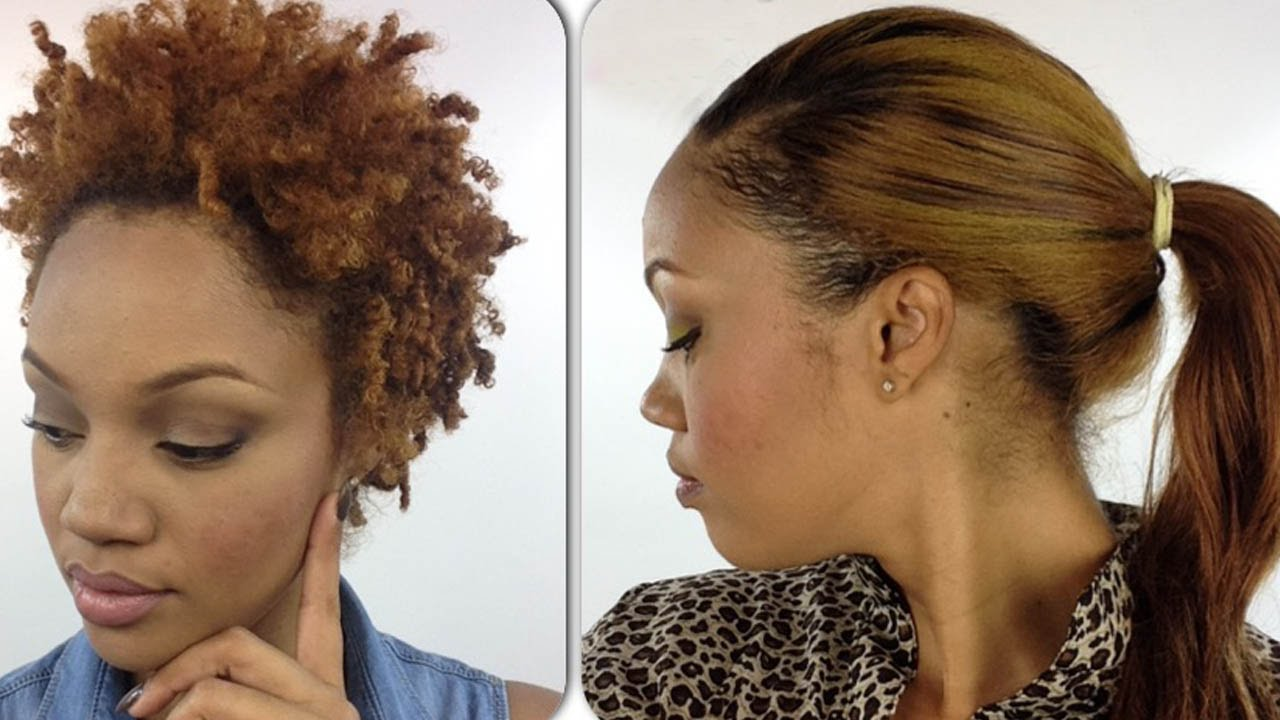 Hair Style Upload Photo: RE-UPLOAD: How To: Quick Weave With HIGH PONYTAIL! (On