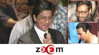 Planet Bollywood News - Shahrukh & Ajay under one roof, Akshay avoids questions on Anita Advani, & more news