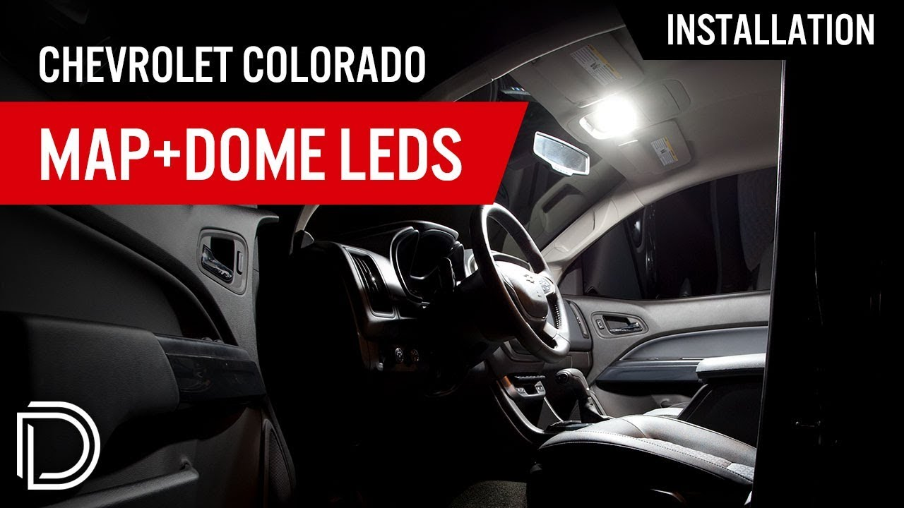 How To Install Chevrolet Colorado Map Dome Leds Youtube