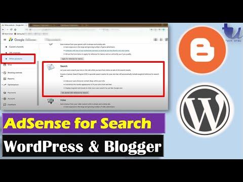 Google AdSense - Ads for Search (Custom Search Engines) for WordPress & Blogger [Hindi/Urdu]