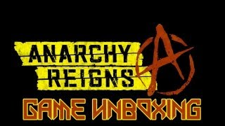 Game Unboxing - Anarchy Reigns