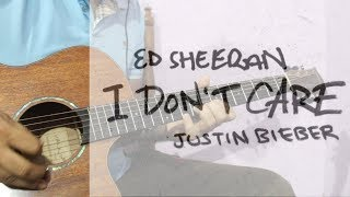 I Don't Care - Ed Sheeran, Justin Bieber | Instrumental Guitar Tabs with Backing Track